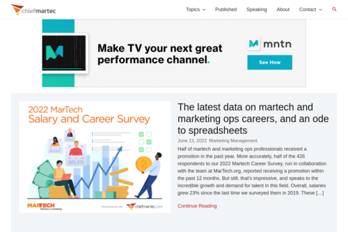 Rise of the Marketing Technologist - http://www.chiefmartec.com