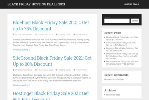 Guide To Choose Best Web Hosting For Newbie Bloggers? - http://www.blackfridayhostingdeals.com