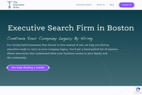 Want More Money? Get An Executive Leadership Coaching Program! - http://www.theexecutivesuite.com