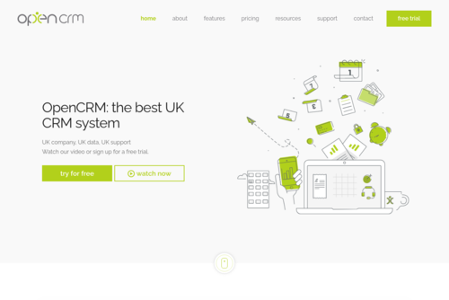 Happy Birthday Postcode - http://opencrm.co.uk