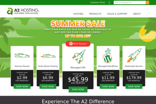 4 Tips for Turbocharging a Slow WordPress Website - https://www.a2hosting.com