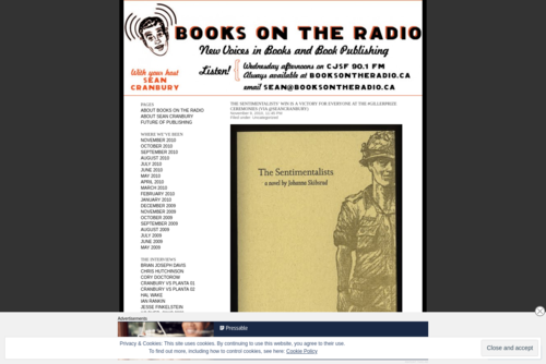 It's About Leadership:  Shane Gibson Talks About Sociable! books on the radio - http://booksontheradio.wordpress.com