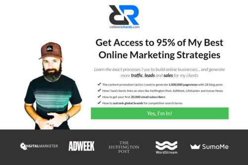19 Ways to Increase Organic SEO Traffic (With Examples and Templates) - https://www.robbierichards.com