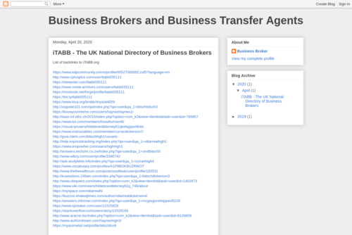Business Brokers and Business Transfer Agents: Should I use a business broker to sell my business? - https://business-broker-uk.blogspot.com