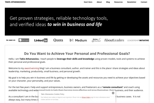 3 Ways You Can Build An Online Presence For Your Business - Takis Athanassiou  - http://takisathanassiou.com