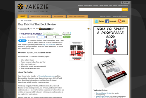 Affiliate Marketing As A Way to Monetize Your Blog  - http://yakezie.com
