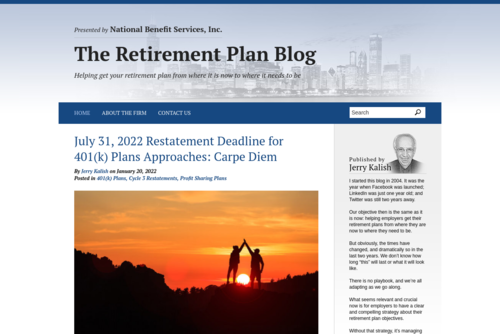 The best retirement plan for small businesses - http://www.retirementplanblog.com