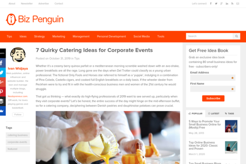 7 Quirky Catering Ideas for Corporate Events  - www.bizpenguin.com/7-quirky-catering-ideas-for-corporate-events-12745/