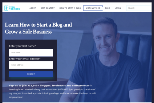 12 Ways How to Make Money Blogging and Earn $175,351 (on the Side) in 2019  - https://www.ryrob.com