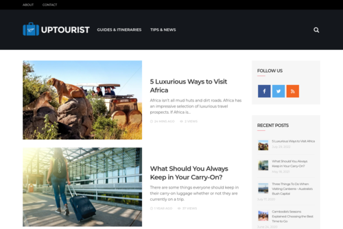 Bring Your Travel Blog To Life With PosterMyWall  - http://www.uptourist.com