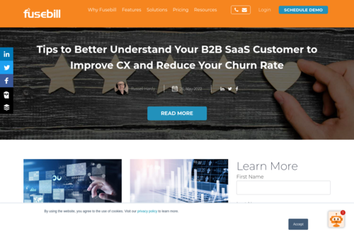 Why Churn is the Crucial SaaS Metric to Optimize Around During a Downturn - https://blog.fusebill.com