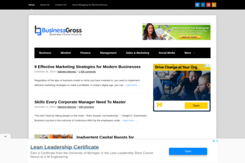 How to Double the Results of Your Marketing Efforts  - http://www.businessgross.com