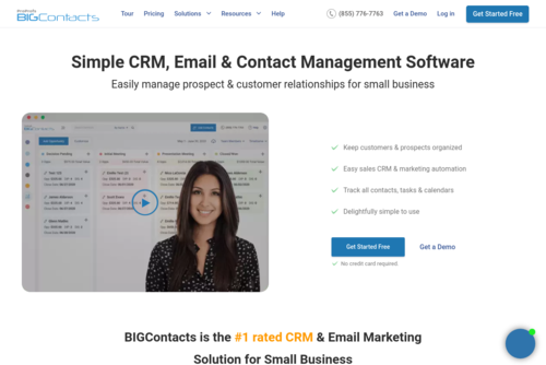 Top 7 Ways CRM Software Helps You Manage Tasks & Workflow in 2021 - https://www.bigcontacts.com