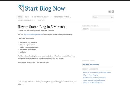 Earn More From Comments On YOUR Blog  - http://www.startblognow.com