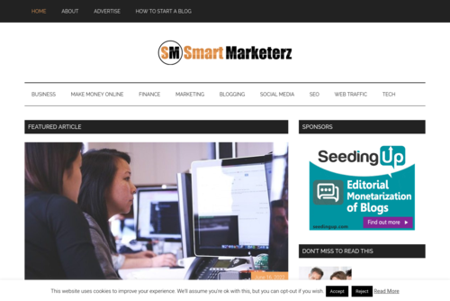 How to Attract New Readers for Your Blog - http://smartmarketerz.com