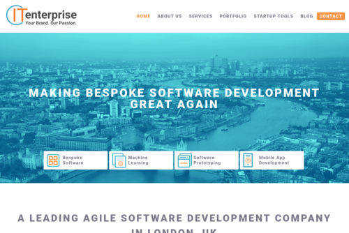 7 Successful Example of Bespoke Software - http://www.itenterprise.co.uk