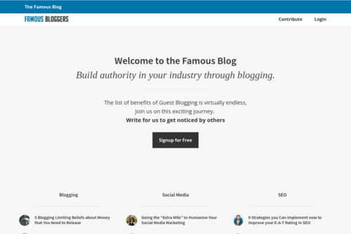 I Gave Up Blogging and Threw the Towel In - http://www.famousbloggers.net