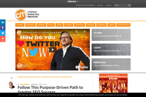 What\'s Up in 2021 for Content Marketing? - https://contentmarketinginstitute.com