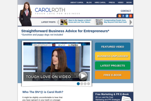 The Best Tips for Getting and Using Testimonials in Business  - http://www.carolroth.com