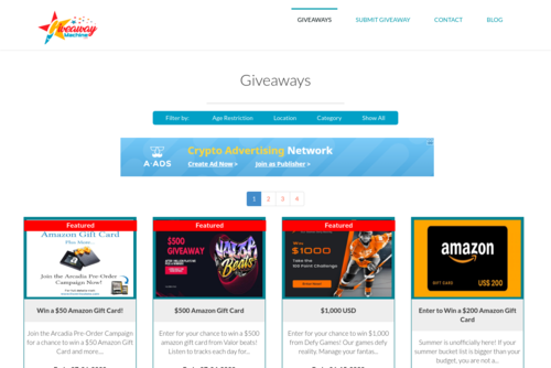 Want To Run Your Own Giveaway ? - Giveaway Machine - http://giveawaymachine.com