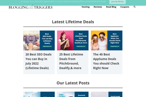 Top 8 Ways To Speed Up A Slow Website! - https://www.bloggingtriggers.com