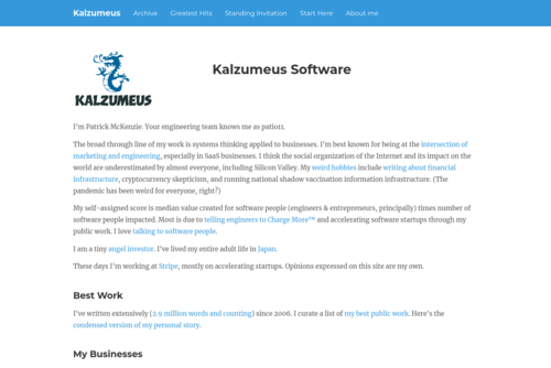 Running A Software Business On 5 Hours A Week: MicroISV on a Shoestring - http://www.kalzumeus.com