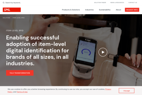 RFID Tags & Labels Trusted by Top Fashion Brands  - https://sml-rfid.com