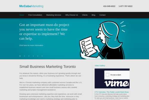 8 reasons to update and upgrade your website now - https://www.mccabemarketing.ca