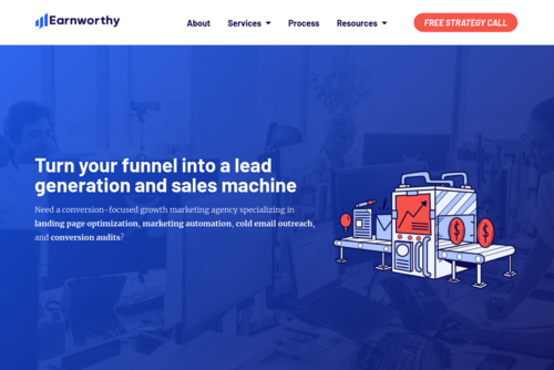 Growth Hacking Tools and Tactics with Sujan Patel  - http://earnworthy.com