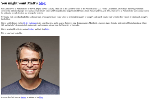 Free links to your site using new Google feature - http://www.mattcutts.com