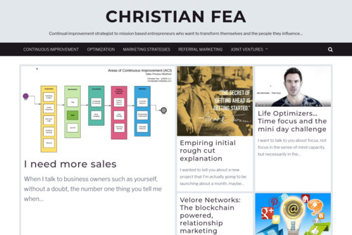 How to Use Blogging to Market Your Joint Venture | Joint Venture Marketing with Christian Fea - http://www.christianfea.com