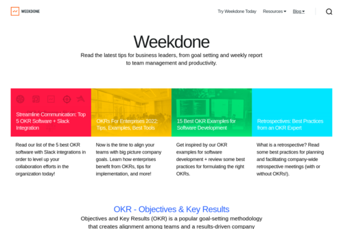 6 Best Workflow Management Tools for your Team - https://blog.weekdone.com