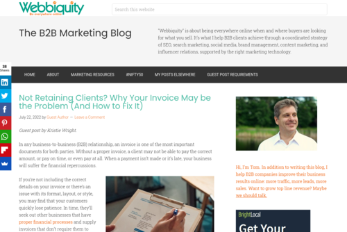 30 Awesome Blogging Guides, Tips and Resources  - http://webbiquity.com