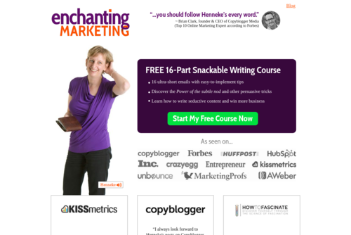 """How to improve your writing style: 3 \""""magic\"""" ingredients - https://www.enchantingmarketing.com"""
