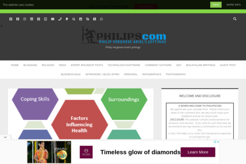 Philipscom Blog Page Crossed 1000 Blog Posts- A Thank You Note To All - https://www.pvariel.com