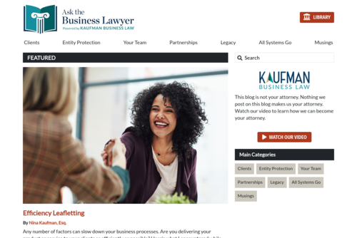 Reflections on What Ruins a Business Partnership  - http://askthebusinesslawyer.com
