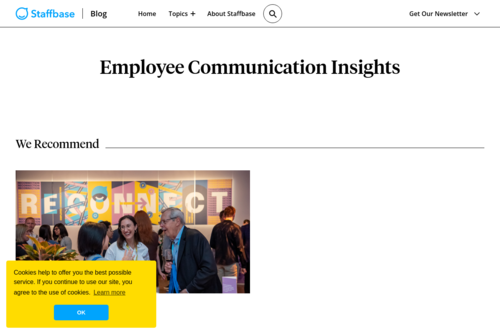 Employee Onboarding — The Complete Guide - https://insights.staffbase.com