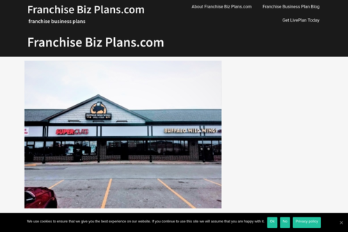 A Good Business Plan?  - https://www.franchisebizplans.com
