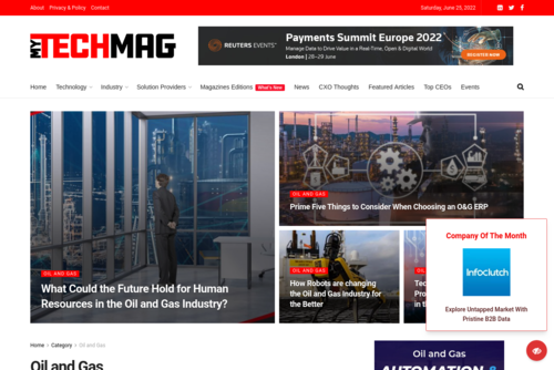 Advanced Technologies helping the industry to extract oil from a challenging environment! - https://oil-and-gas.mytechmag.com