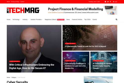 Alarming Cyber Security Facts in 2020 - https://cyber-security.mytechmag.com