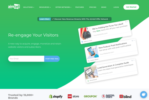 7 Powerful Shopify Marketing Tools to Grow Your Business - https://aimtell.com