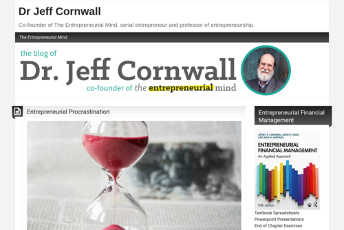Entrepreneurship Does Not Take Place in a Vacuum - http://www.drjeffcornwall.com