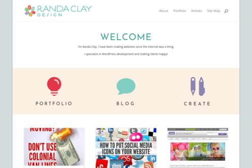 Design Inspiration: the Anatomy of a Great Blog Ad at  Randa Clay Design - http://randaclay.com
