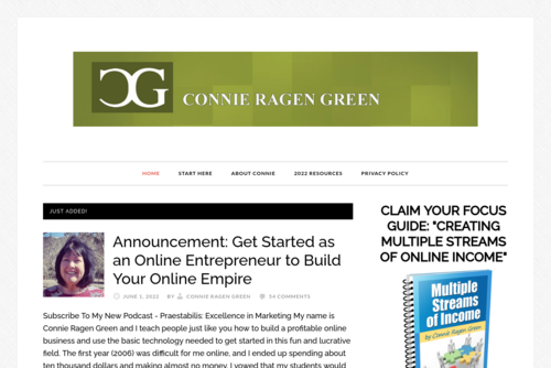 Online Marketing Tips with Connie Ragen Green [podcast] - http://connieragengreen.com