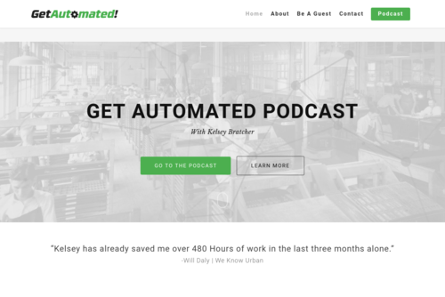 Planning And Creating Automation Ready Processes With Kelsey Bratcher  - https://getautomated.co