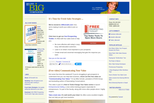 Hey Small Biz Readers: This One Is For You! - http://sellingtobigcompanies.blogs.com