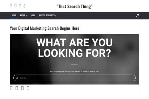 Using Google Analytics to Track Website Performance - http://thatsearchthing.com