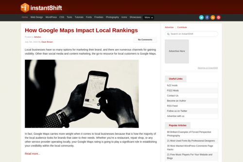 7 Cutting Edge Web Design Trends to Follow in 2019  - http://www.instantshift.com