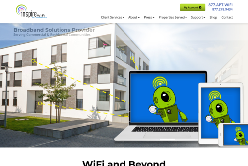 WiFi - One of the Prime Needs for Students  - https://www.inspirewifi.com