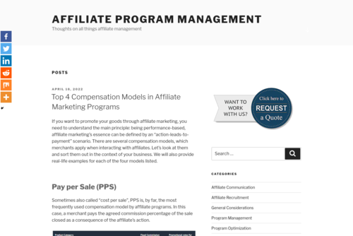 How to Use Social Media to Form New Partnerships - http://affiliate-program-management.com